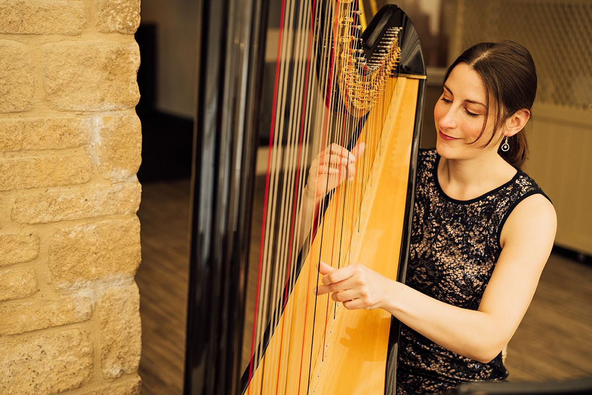 Solo Harpist for Weddings and Events
