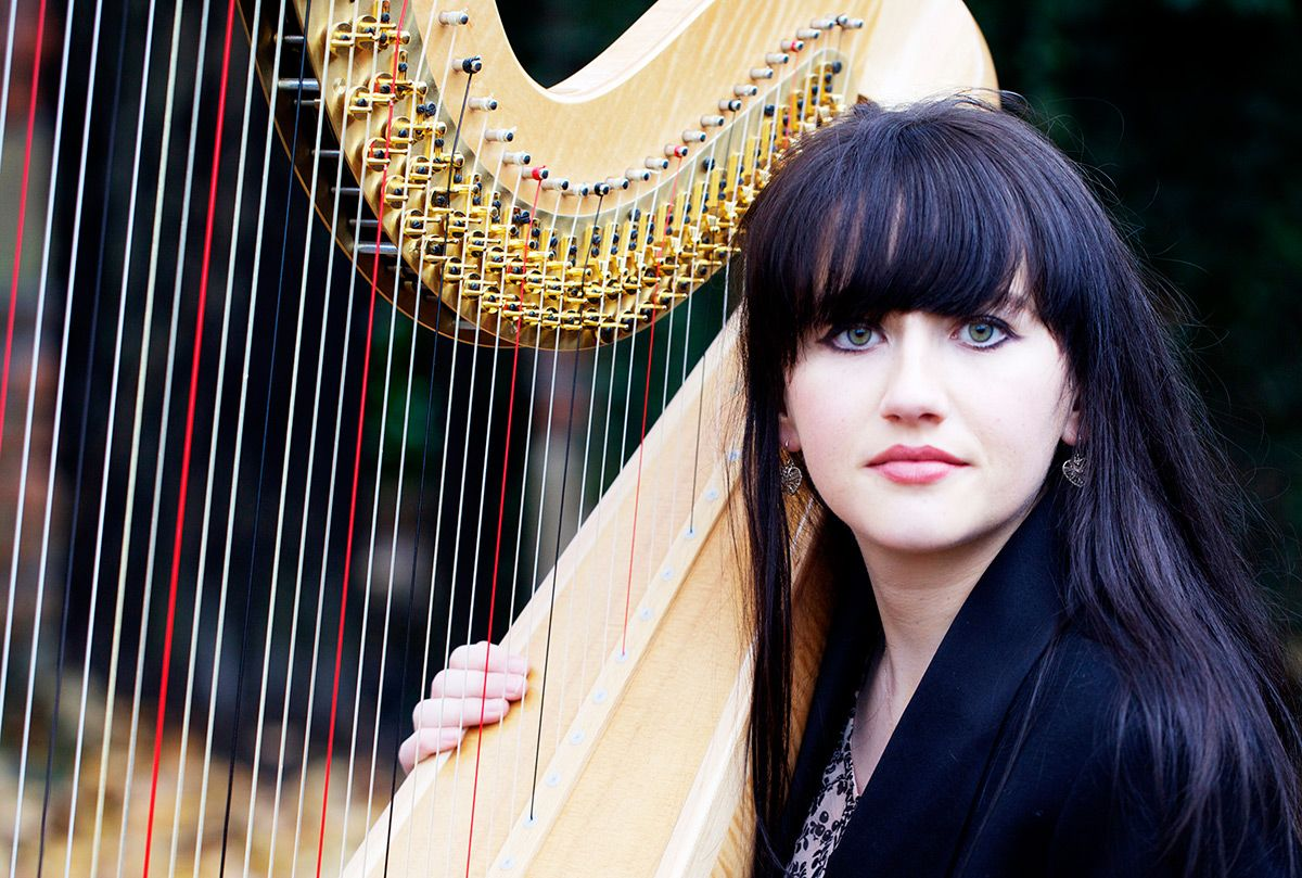 Female Welsh Harpists for Hire