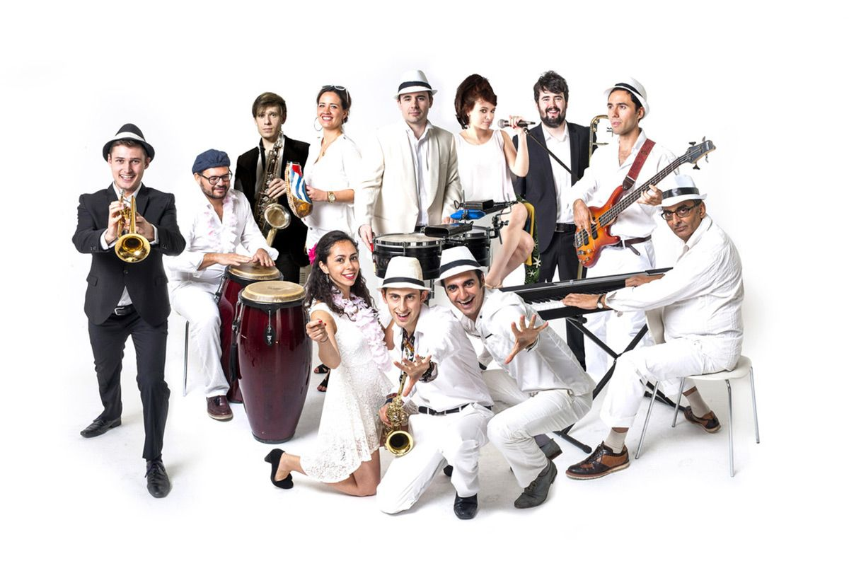 Latin American Salsa Party Band for Hire