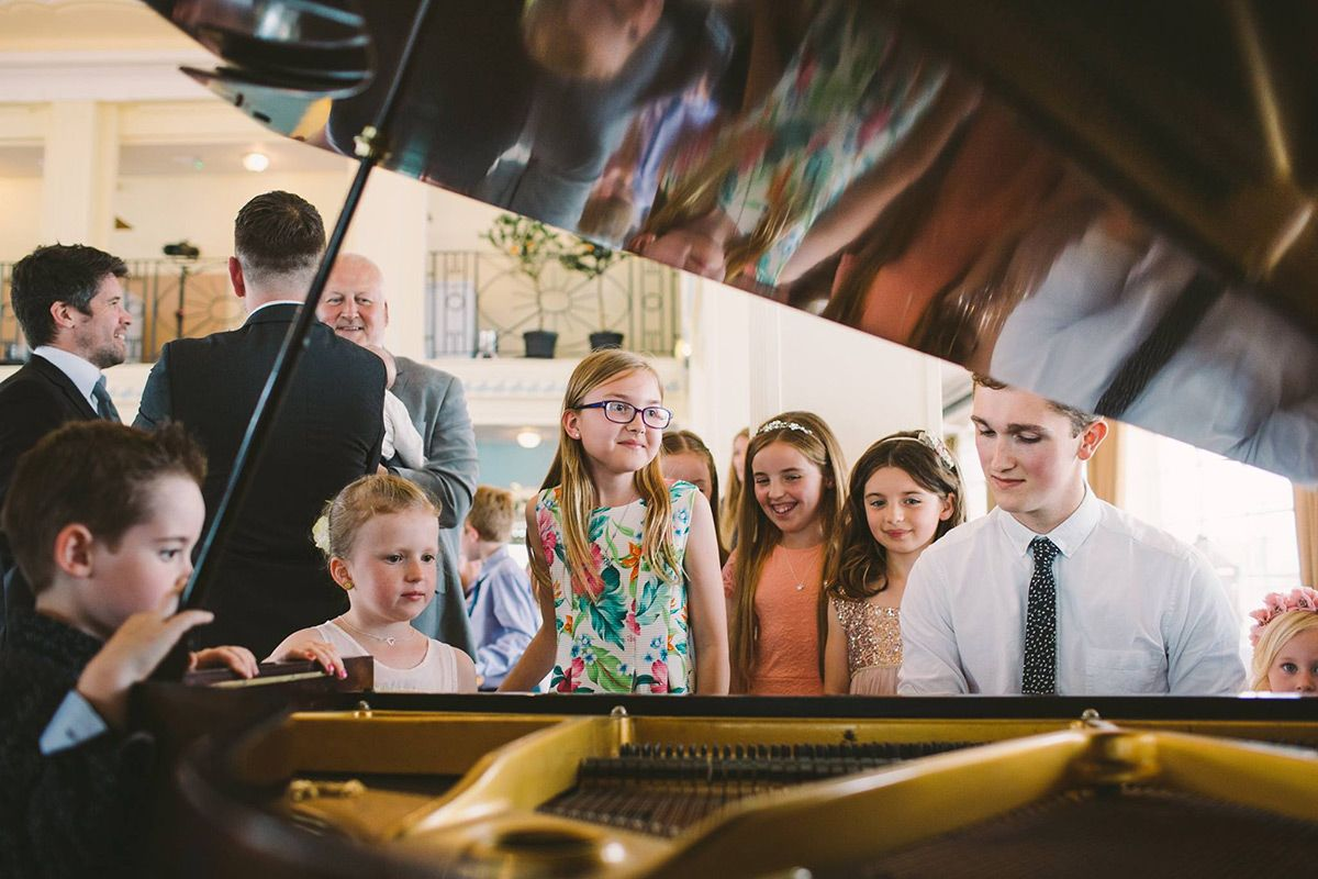 Hire a Jazz Pianist | Solo Pianist For Weddings | Dave