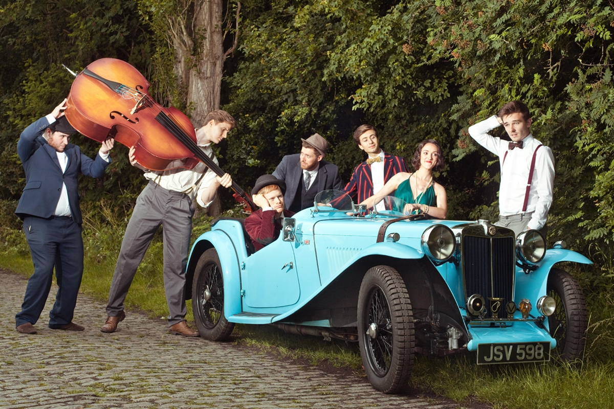 1920s Jazz & Swing Band with Female Vocals