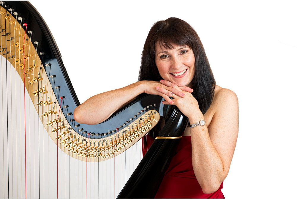 North West Based Solo Harpist