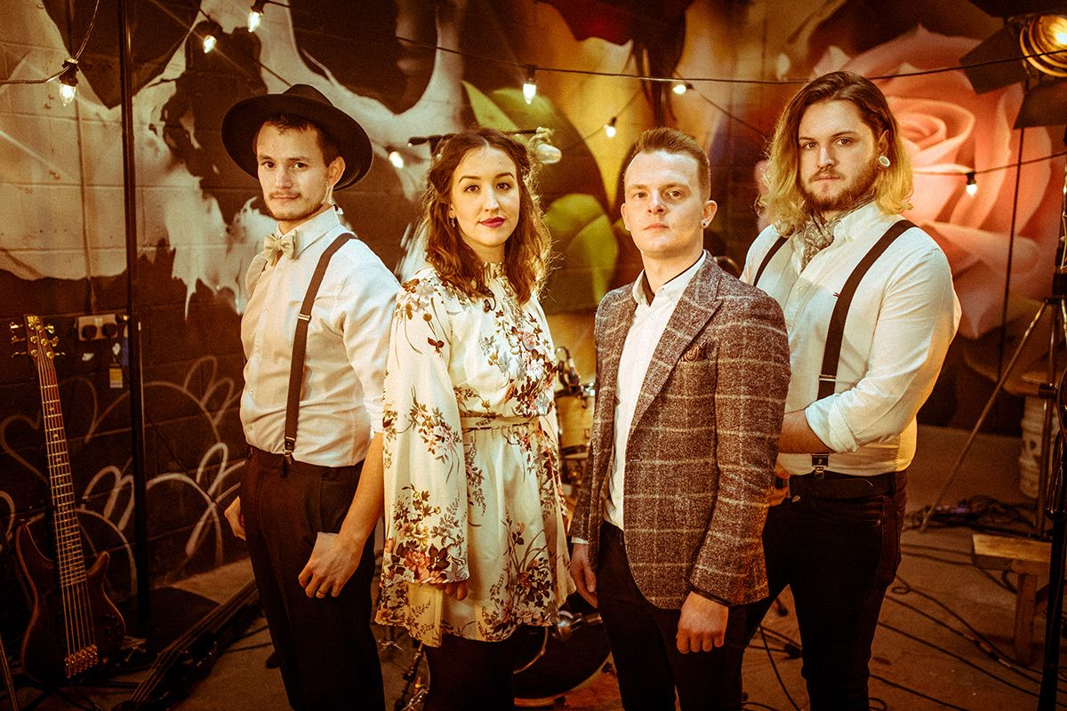 Female & Male Fronted Vintage, Folk & Pop Band