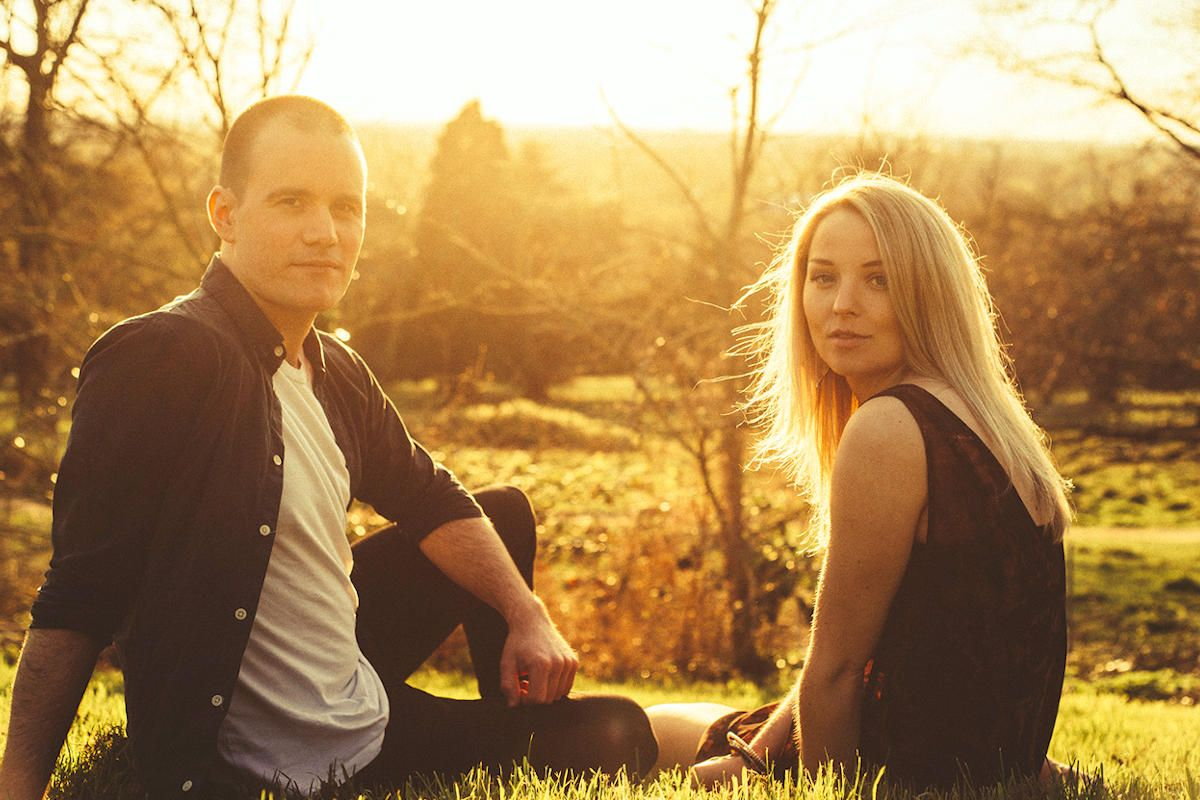 Captivating Male and Female Acoustic Duo